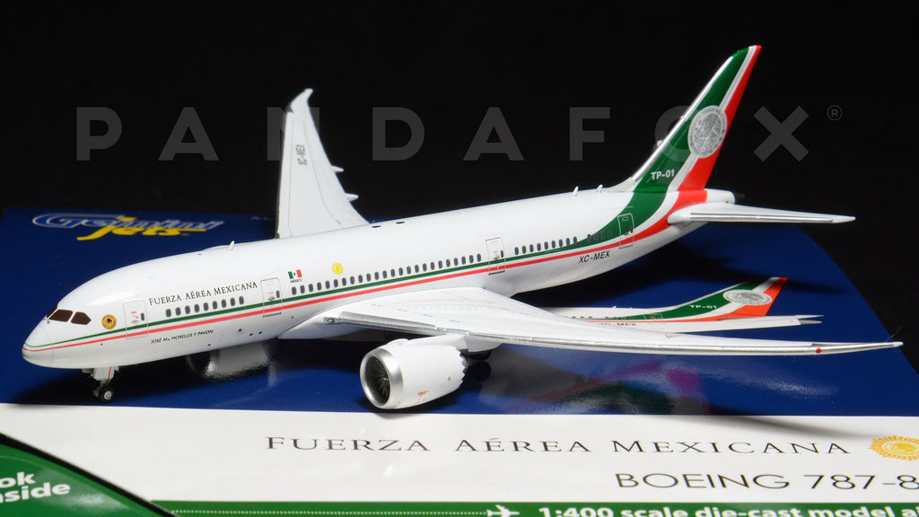 Mexican Air Force Boeing 787-8 XC-MEX GeminiJets GJMAF1629 Scale 1:400