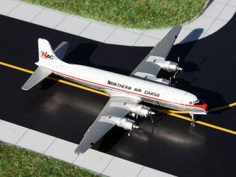 Northern Air Cargo DC-6B N43872 GeminiJets GJNAC1152 Scale 1:400