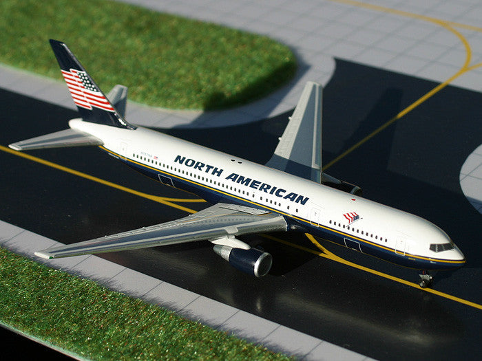 North American Airlines Boeing 767-300 N767NA GeminiJets GJNAO453 Scale 1:400