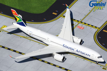 South African Airways Airbus A350-900 ZS-SDC GeminiJets GJSAA1920 Scale 1:400