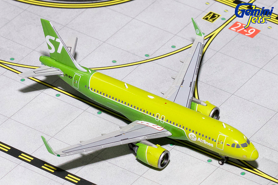 S7 Airlines Airbus A320neo VQ-BCF GeminiJets GJSBI1699 Scale 1:400