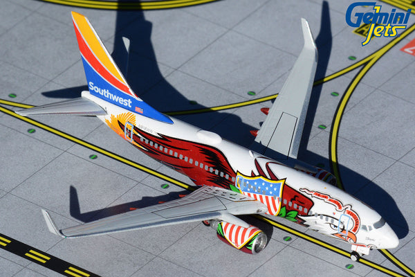 Southwest Boeing 737-700 N918WN Illinois One GeminiJets GJSWA1952 Scale 1:400