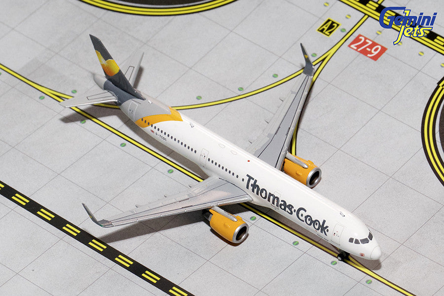Thomas Cook Airbus A321 G-TCDC GeminiJets GJTCX1431 Scale 1:400