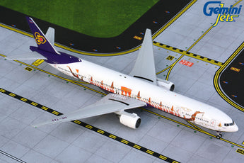 Thai Airways Boeing 777-300 HS-TKF Royal Barge GeminiJets GJTHA1891 Scale 1:400