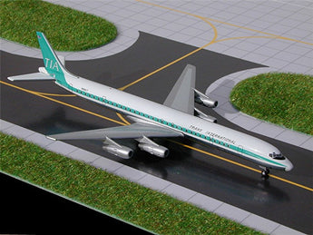 Trans International DC-8-61 N8961T GeminiJets GJTVA102 Scale 1:400