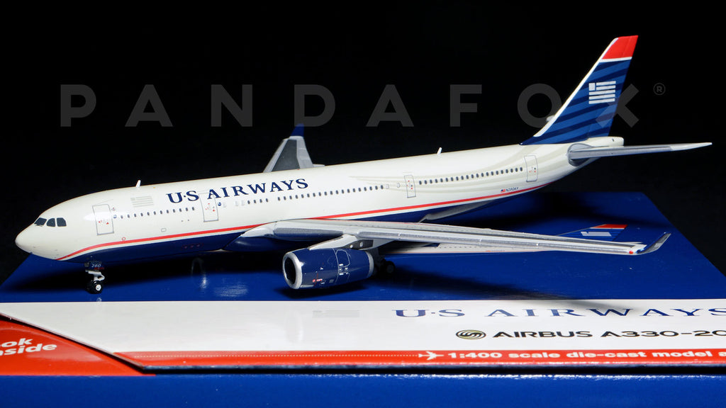 US Airways Airbus A330-200 N280AY GeminiJets GJUSA1125 Scale 1:400