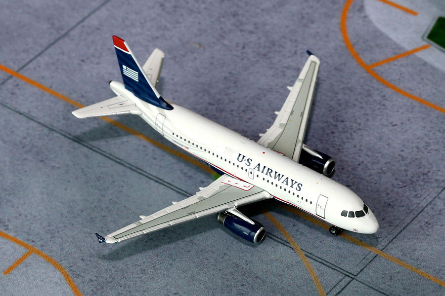 US Airways Airbus A319 N801AW GeminiJets GJUSA1397 Scale 1:400