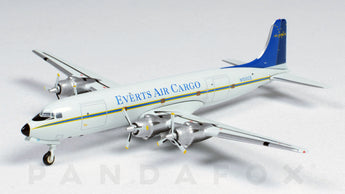 Everts Air Cargo DC-6 N100CE GeminiJets GJVTS1151 Scale 1:400