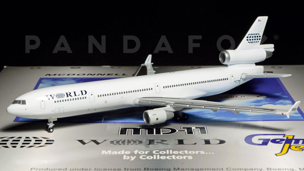 World Airways MD-11 N277WA GeminiJets GJWOA152 Scale 1:400