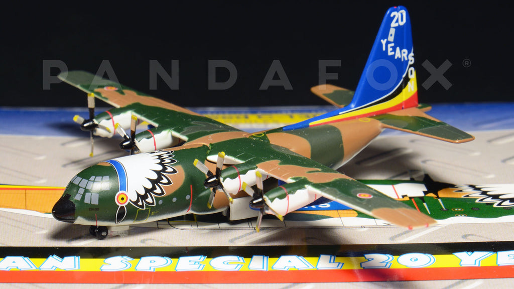 Belgian Air Force Lockheed C-130H CH-05 GeminiJets GMBAF010 Scale 1:400