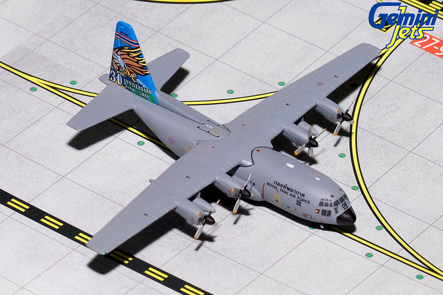 Royal Thai Air Force Lockheed C-130 60108 GeminiJets GMTAF082 Scale 1:400