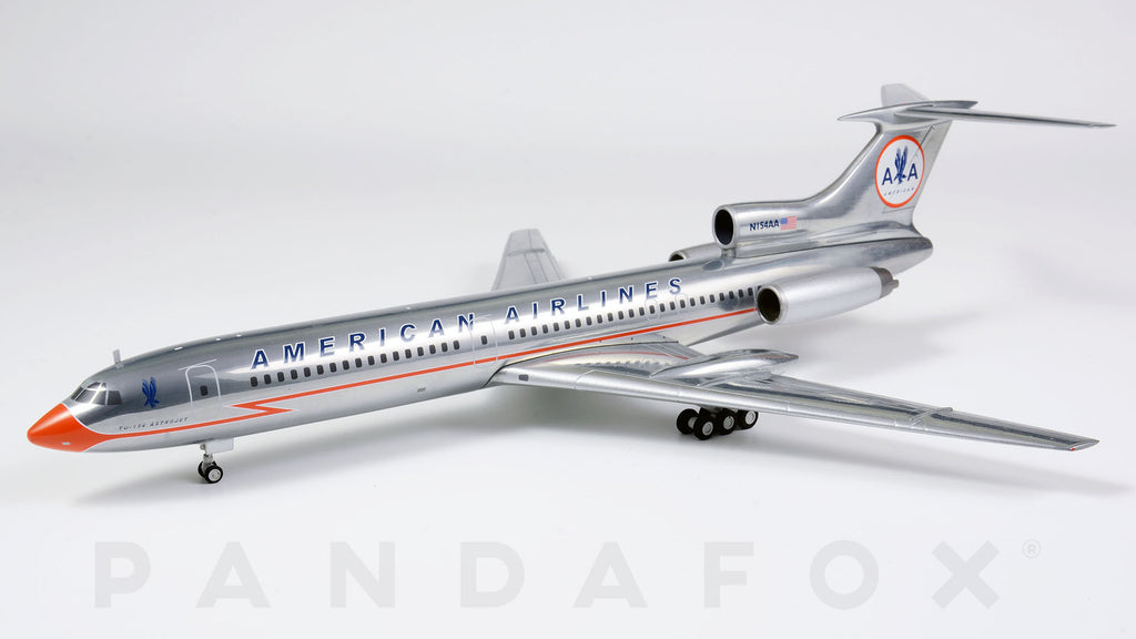 American Airlines Tupolev Tu-154 N154AA Astrojet JC Wings JC2AAL736 XX2736 Scale 1:200