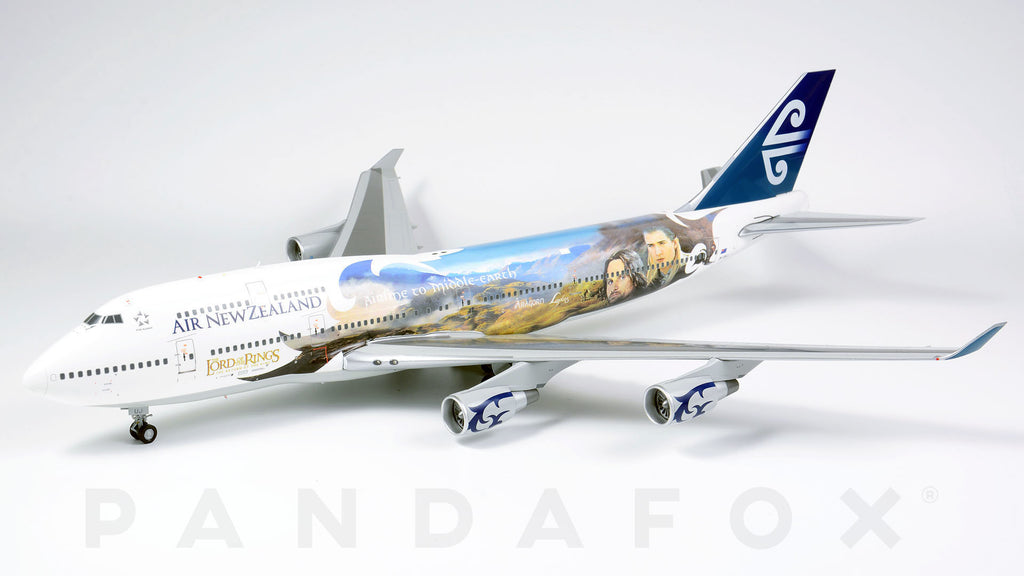 Air New Zealand Boeing 747-400 ZK-SUJ Lord of the Rings JC Wings JC2ANZ925 XX2925 Scale 1:200