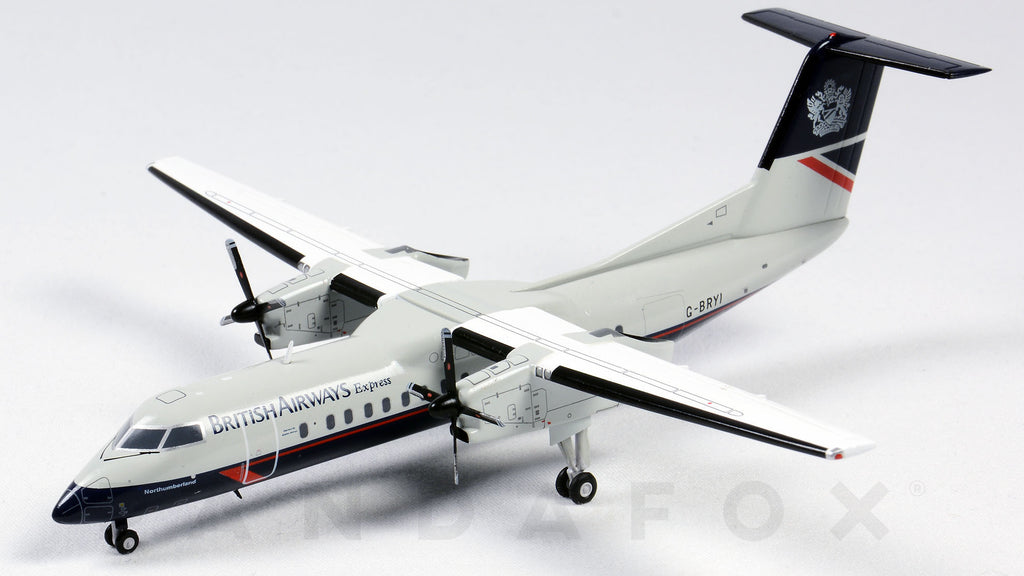 British Airways Express Dash 8 Q300 G-BRYI Landor Retro Livery JC Wings JC2BAW278 XX2278 Scale 1:200