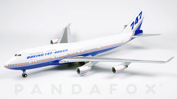 Boeing House Boeing 747-400 N747ER JC Wings JC2BOE174 XX2174 Scale 1:200