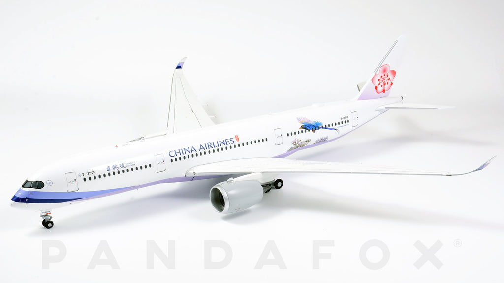 China Airlines Airbus A350-900 B-18908 Urocissa Caerulea JC Wings JC2CAL188 XX2188 Scale 1:200
