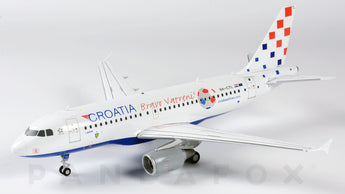 Croatia Airlines Airbus A319 9A-CTL Bravo Vatreni JC Wings JC2CTN143 XX2143 Scale 1:200