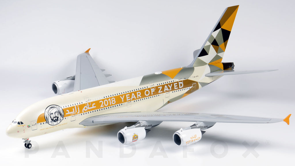 Etihad Airways Airbus A380 A6-APH Year of Zayed JC Wings JC2ETD034 XX2034 Scale 1:200