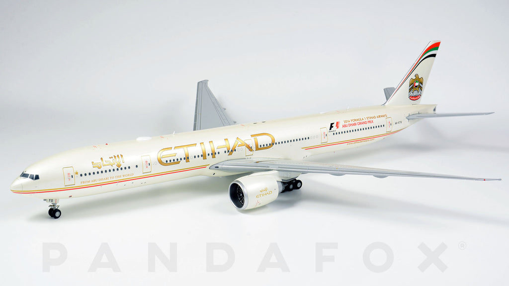Etihad Airways Boeing 777-300ER A6-ETQ JC Wings JC2ETD960 XX2960 Scale 1:200