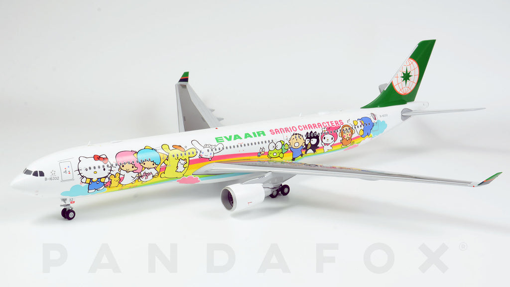 EVA Air Airbus A330-300 B-16332 Joyful Dream JC Wings JC2EVA152 XX2152 Scale 1:200