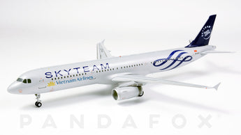 Vietnam Airlines Airbus A321 VN-A327 Skyteam JC Wings JC2HVN482 XX2482 Scale 1:200
