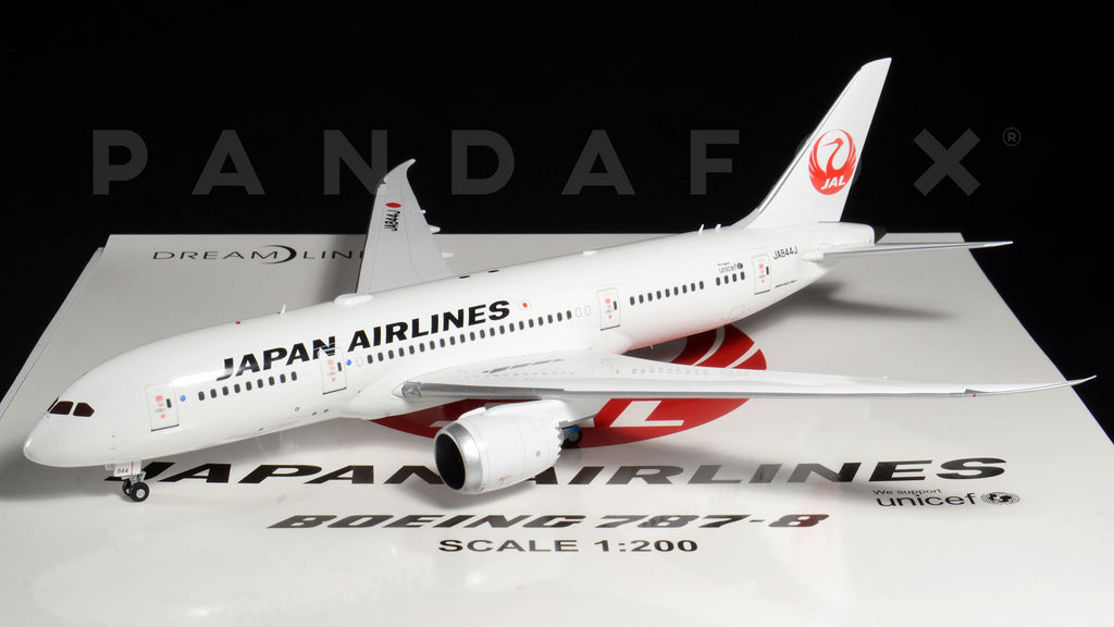 Japan Airlines Boeing 787-8 JA844J JC Wings JC2JAL158 XX2158 Scale 1:200