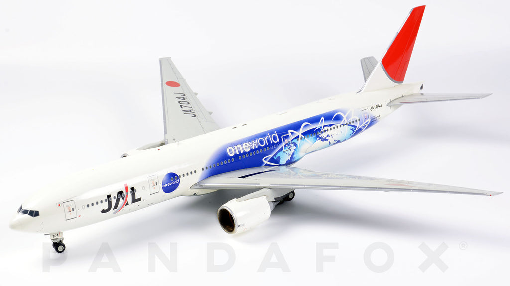 Japan Airlines Boeing 777-200ER JA704J One World JC Wings JC2JAL673 XX2673 Scale 1:200