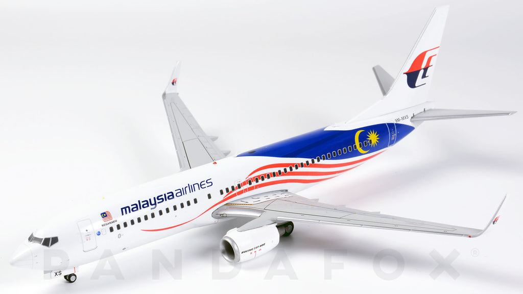 Malaysia Airlines Boeing 737-800 9M-MXS JC Wings JC2MAS162 XX2162 Scale 1:200