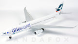 Cathay Pacific Airbus A330-300 B-HLU One World JC Wings JC2MISC972 XX2972 Scale 1:200