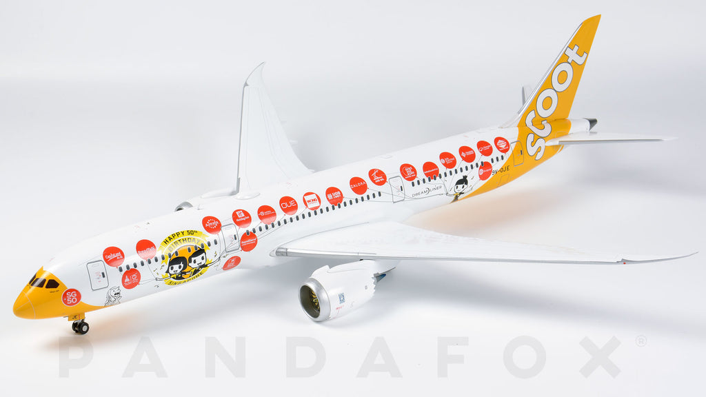 Scoot Boeing 787-9 9V-OJE Singapore 50th JC Wings JC2SCO361 XX2361 Scale 1:200