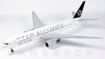 United Boeing 777-200ER N77022 Star Alliance JC Wings JC2UAL966 XX2966 Scale 1:200