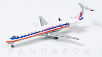 American Eagle Embraer ERJ-145LR N691AE Pink Ribbon JC Wings JC4AAL016 XX4016 Scale 1:400