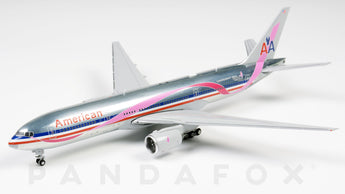 American Airlines Boeing 777-200ER N759AN Breast Cancer Awareness JC Wings JC4AAL136 XX4136 Scale 1:400