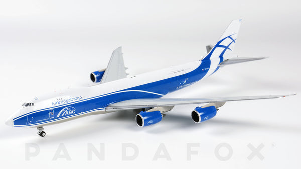 Air Bridge Cargo Boeing 747-8F VQ-BGZ JC Wings JC4ABW162 XX4162 Scale 1:400