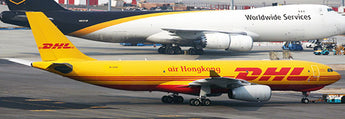 Air Hong Kong Cargo (DHL) Airbus A330-200F B-LDS JC Wings JC4AHK901 XX4901 Scale 1:400