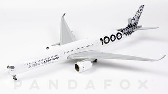 Airbus House Airbus A350-1000 F-WLXV Carbon Fibre JC Wings JC4AIR037 XX4037 Scale 1:400