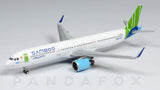 Bamboo Airways Airbus A321neo VN-A591 JC Wings JC4BAV166 XX4166 Scale 1:400