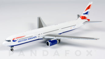 British Airways Boeing 767-300ER G-BZHA JC Wings JC4BAW086 XX4086 Scale 1:400
