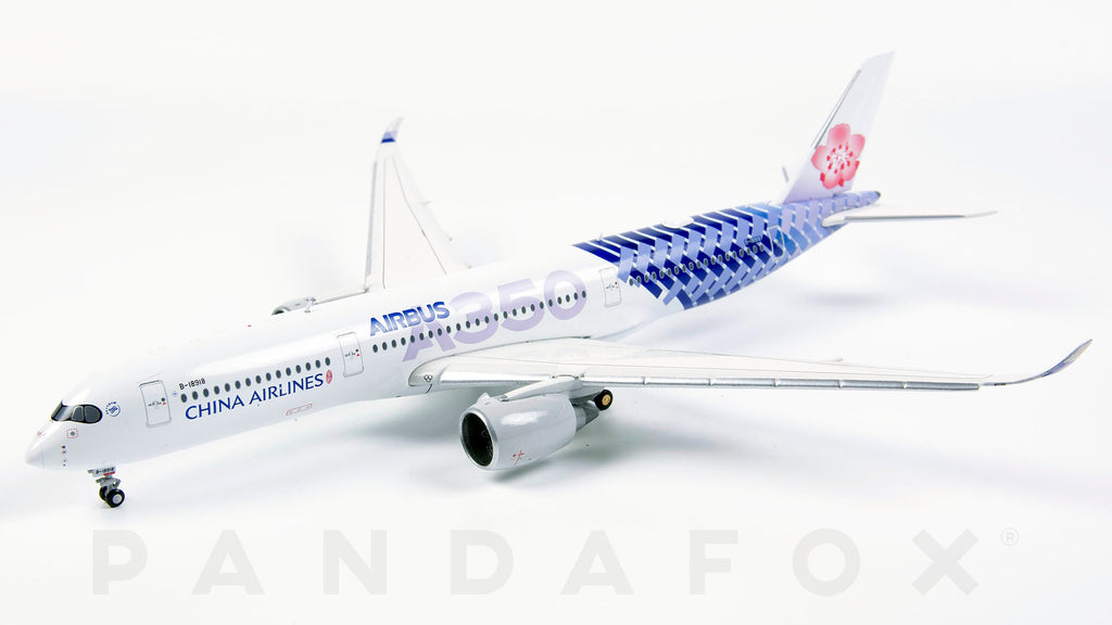China Airlines Airbus A350-900 Flaps Down B-18918 Carbon Fibre JC Wings JC4CAL032A XX4032A Scale 1:400