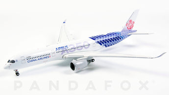 China Airlines Airbus A350-900 B-18918 Carbon Fibre JC Wings JC4CAL032 XX4032 Scale 1:400