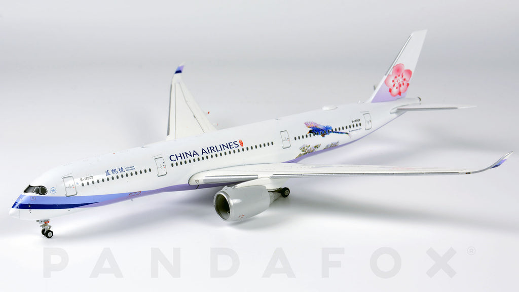 China Airlines Airbus A350-900 B-18908 Urocissa Caerulea JC Wings JC4CAL728 XX4728 Scale 1:400