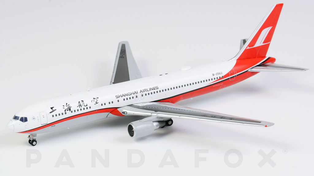 Shanghai Airlines Boeing 767-300 B-2563 JC Wings JC4CSH028 XX4028 Scale 1:400