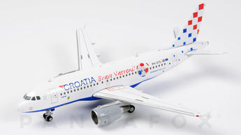 Croatia Airlines Airbus A319 9A-CTL Bravo Vatreni JC Wings JC4CTN064 XX4064 Scale 1:400