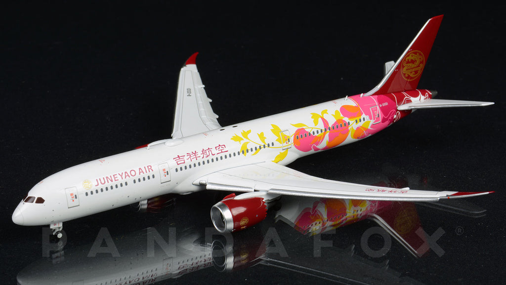 Juneyao Airlines Boeing 787-9 Flaps Down B-20D1 JC Wings JC4DKH224A XX4224A Scale 1:400