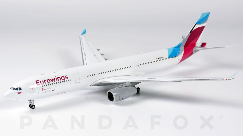 Eurowings Airbus A330-300 OO-SFB JC Wings JC4EWG422 XX4422 Scale 1:400