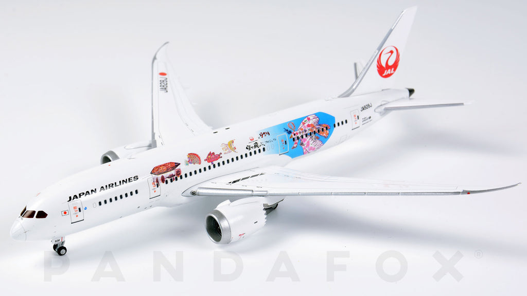 Japan Airlines Boeing 787-8 JA828J Studio Ghibli JC Wings JC4JAL117 XX4117 Scale 1:400