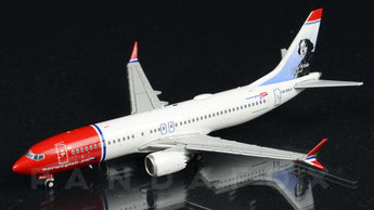 "Norwegian Boeing 737 MAX 8 LN-BKA ""Oscar Wilde"" JC Wings JC4NAX151 XX4151 Scale 1:400"