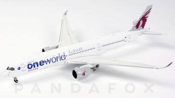 Qatar Airways Airbus A350-900 A7-ALZ One World JC Wings JC4QTR047 XX4047 Scale 1:400
