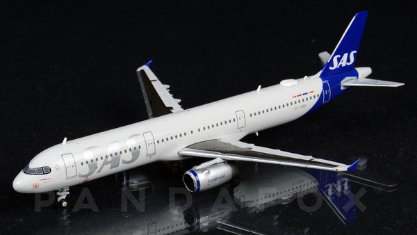 SAS Scandinavian Airlines Airbus A321 OY-KBH JC Wings JC4SAS257 XX4257 Scale 1:400