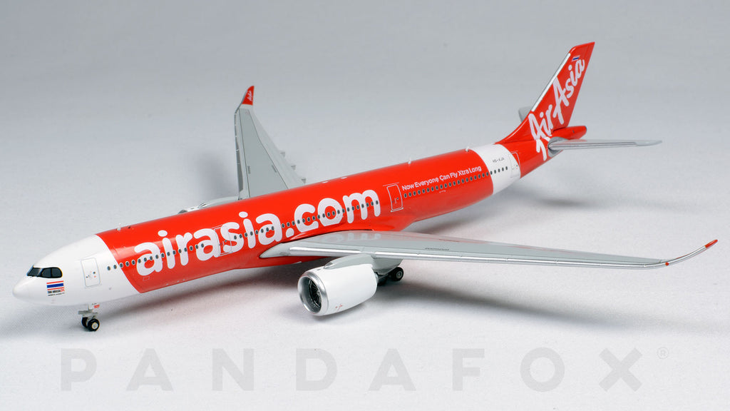 Thai Air Asia X Airbus A330-900neo HS-XJA JC Wings JC4TAX185 XX4185 Scale 1:400